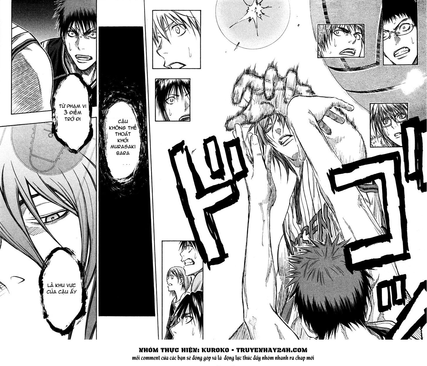 Kuroko No Basket chap 146 trang 16
