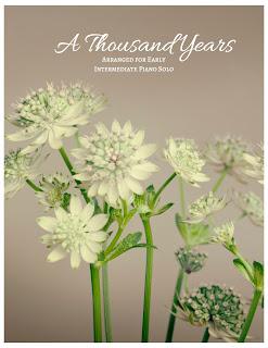 http://www.sheetmusicplus.com/title/a-thousand-years-early-intermediate-piano-solo-digital-sheet-music/20596460