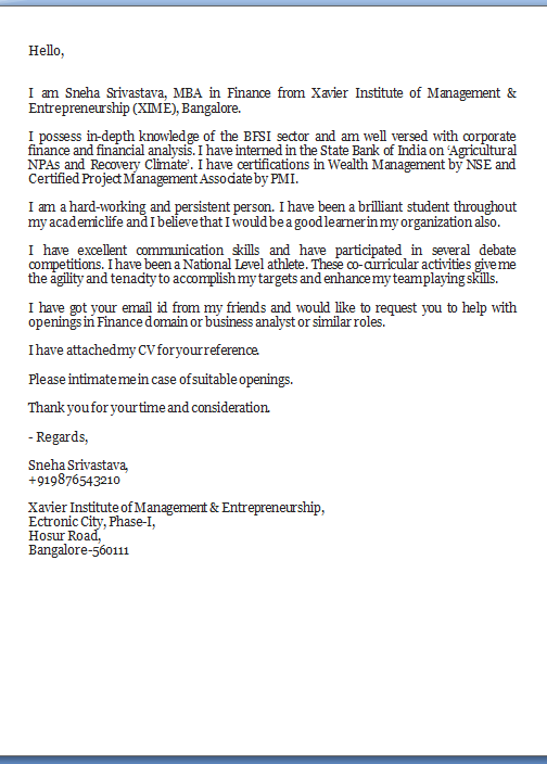 Cover  Prospecting and Thank You Letters  Columbia College Example Prospecting Letter