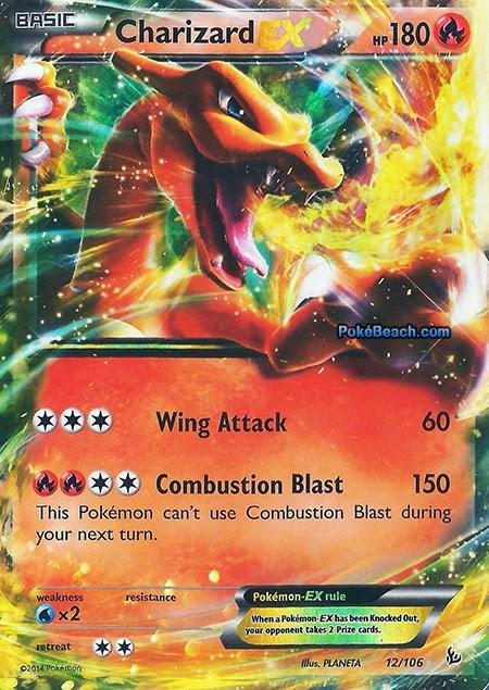 Charizard EX -- Flashfire Pokemon Card Review | Primetime ...