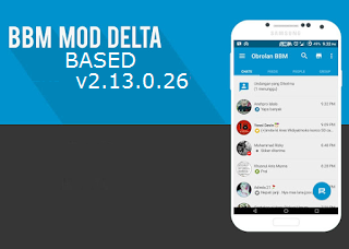 BBM Mod Delta Based v2.13.0.26 Apk Clone | Unclone