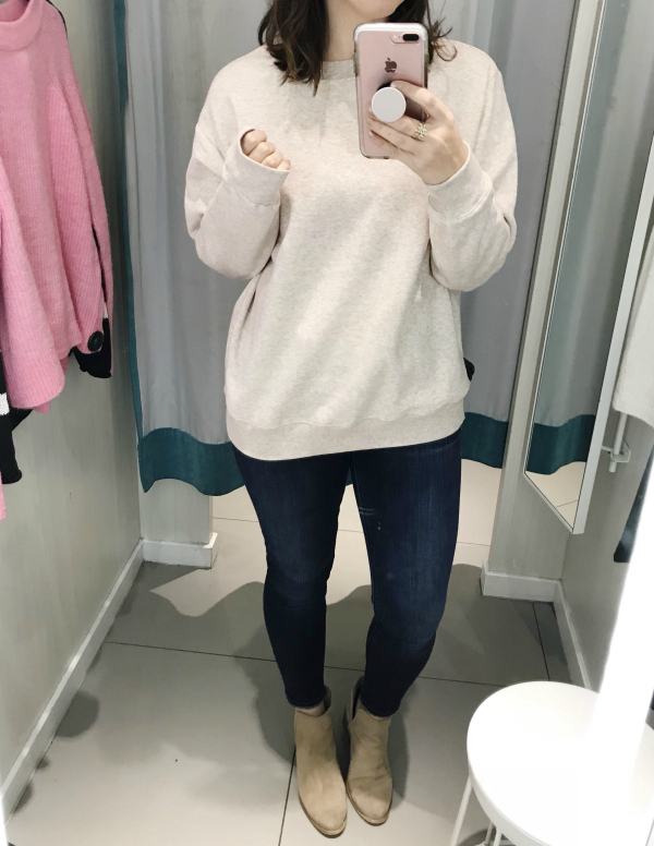 h&m try ons, style on a budget, try on session, mom style, north carolina blogger