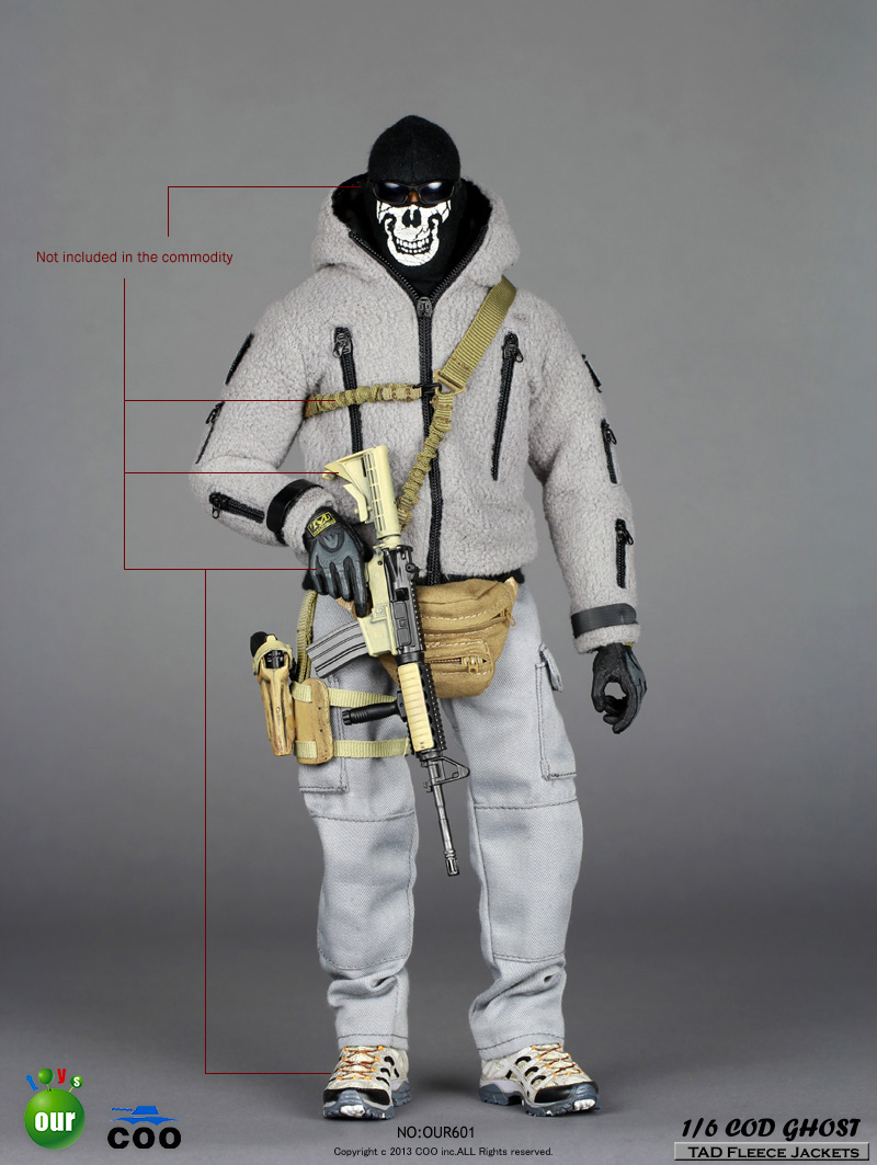Toyhaven Incoming Coomodel 1 6 Scale Cod Call Of Duty Ghost