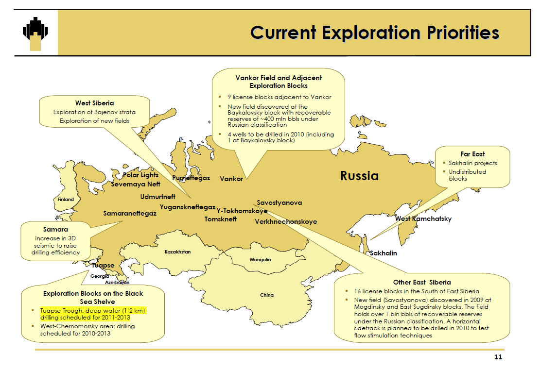 Oil and Gas - Mergers and Acquisition Review: Rosneft and ExxonMobil