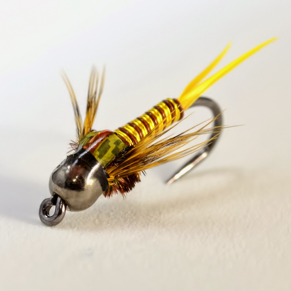 copper john stonefly fly pattern