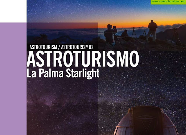 El Cabildo de La Palma edita una nueva guía y material promocional de astroturismo