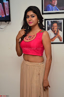 Akshita super cute Pink Choli at south indian thalis and filmy breakfast in Filmy Junction inaguration by Gopichand ~  Exclusive 015.JPG