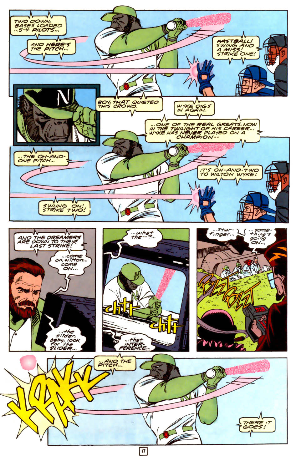 Legion of Super-Heroes (1989) 37 Page 17