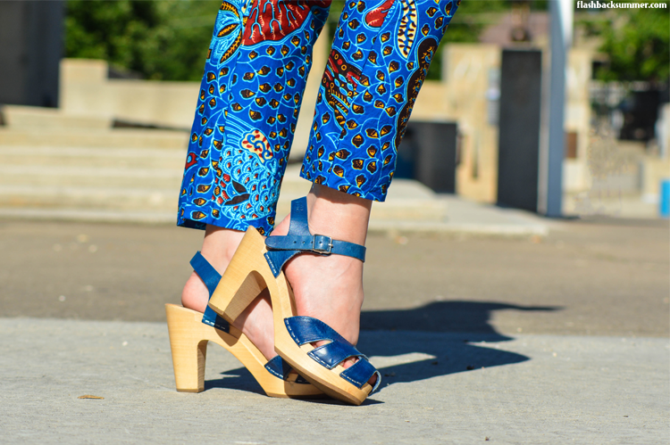 Flashback Summer: Collaboration Outfit Fashion Photos - African Outfit