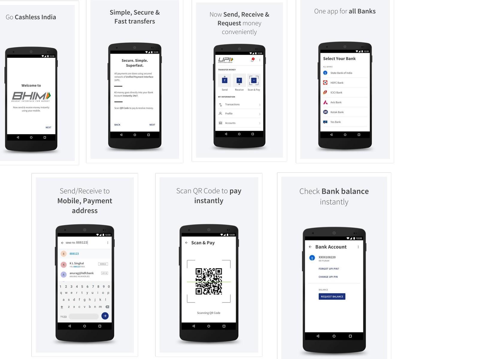 bhim payment app