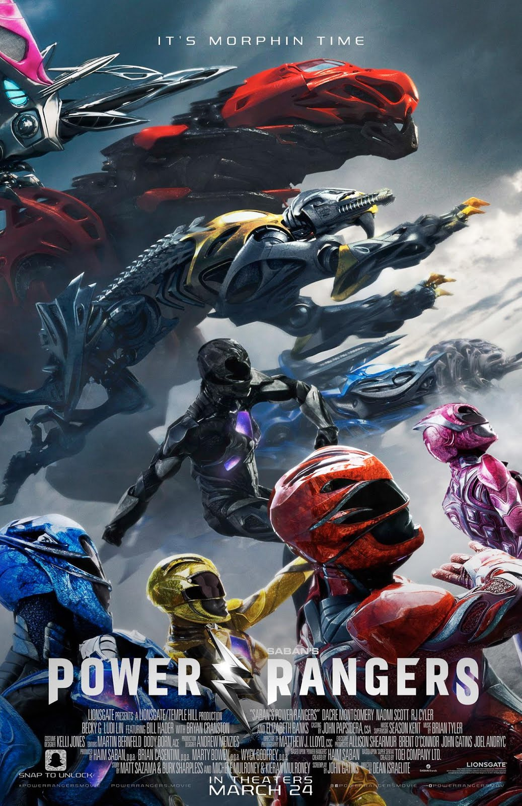 Power Rangers (2017) Movie Download In 300MB – Worldfree4u