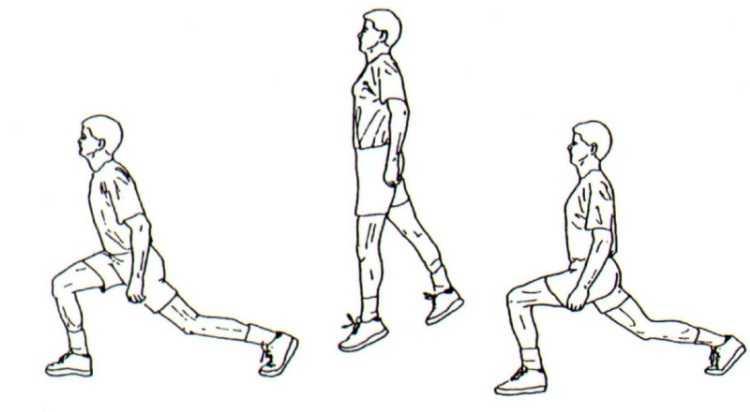 Jump Lunges sıçrama gücünü, bacakları ve komdisyonu arttıran bir harekettir.