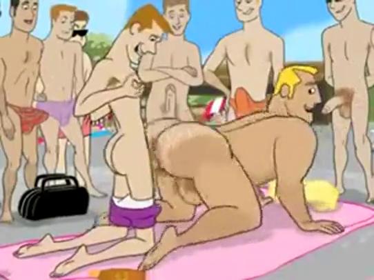 Exact sexo em desenho animado really