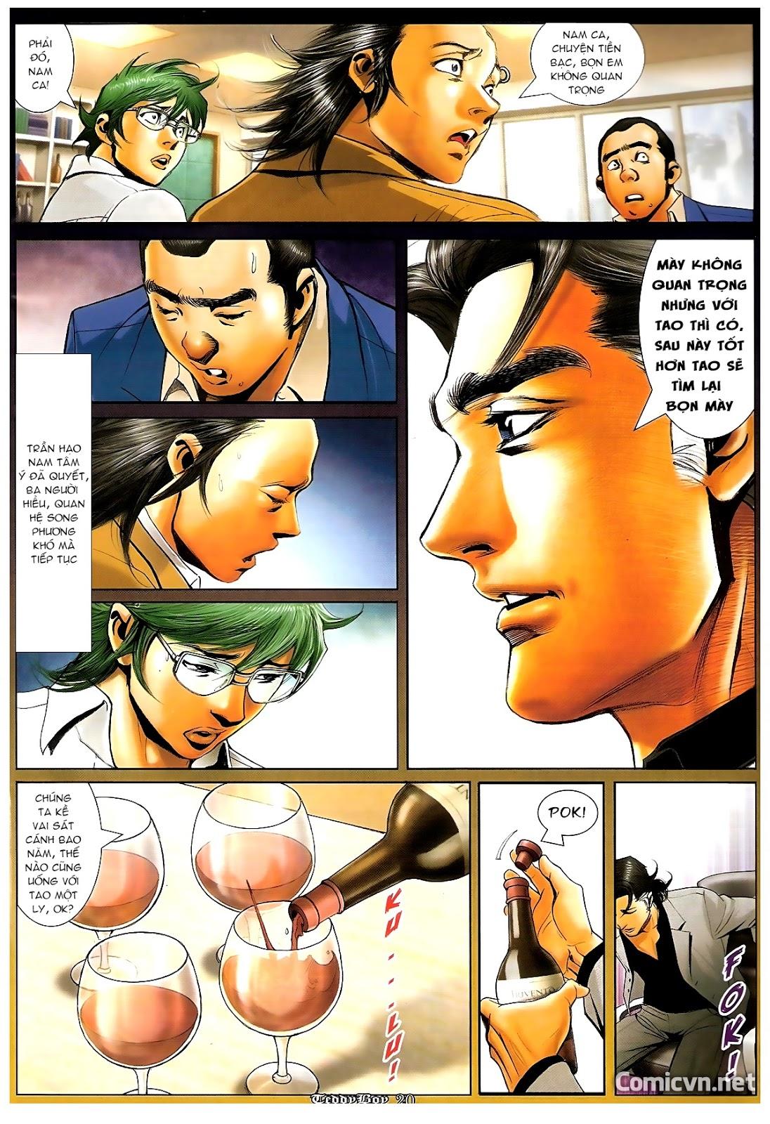 Người Trong Giang Hồ - Chapter 1210: Giải tán - Pic 19
