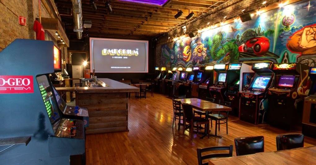La Taberna De Grog Arcade Bars Los Nuevos Salones