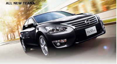 All New Teana (Front)