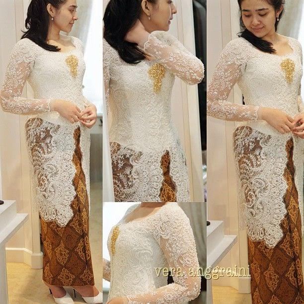 Model Vera Kebaya Dress Modern Long Dress Dan Dress Pendek