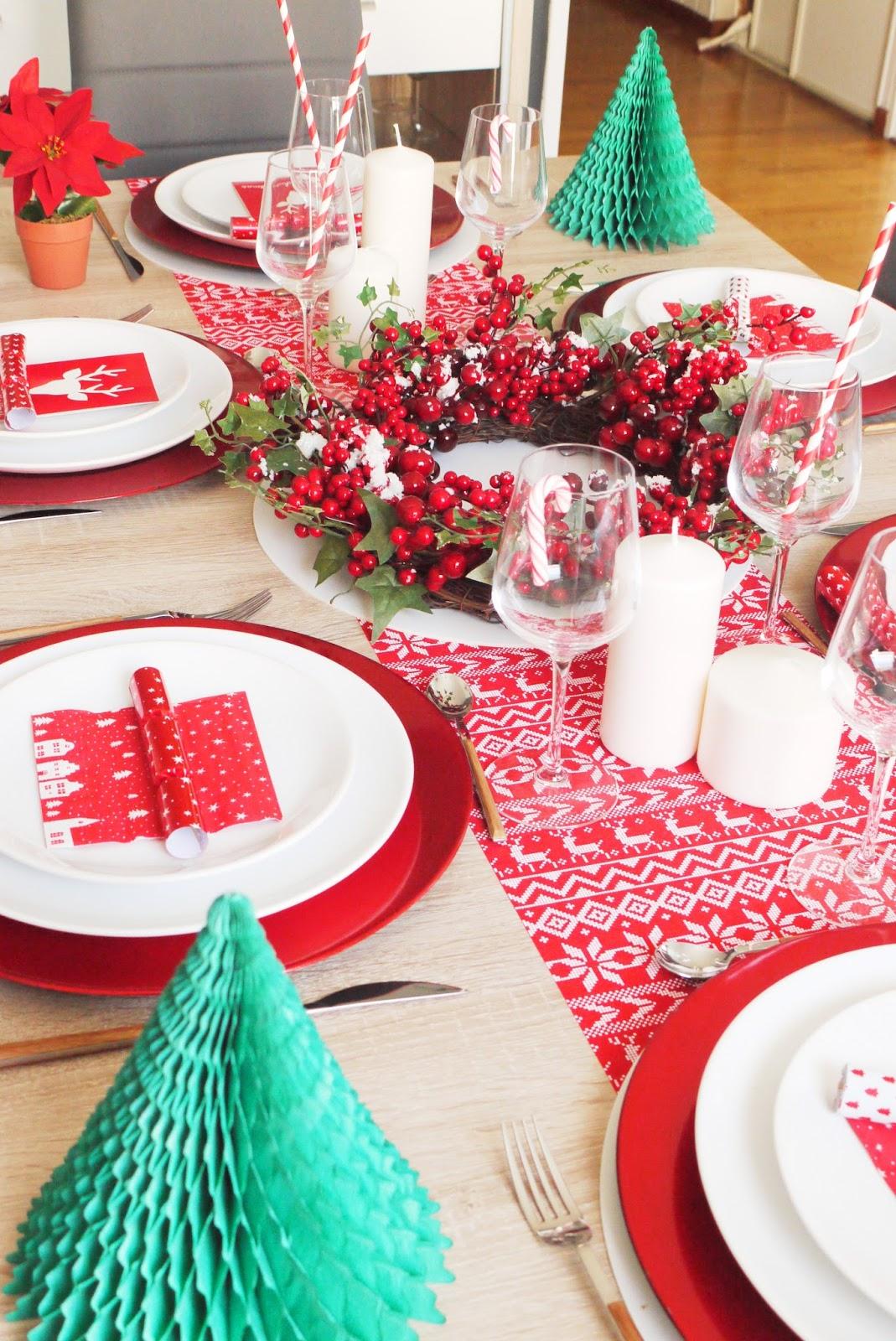 Beautyfood d coration ma table de no l - Couronne de noel maison du monde ...