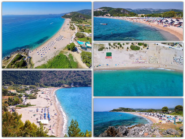 Η παραλία Καραβοστάσι,στην Πέρδικα Θεσπρωτίας - Έχει επιλεχτεί αρκετές φορές για γυρίσματα ταινιών και διαφημίσεων