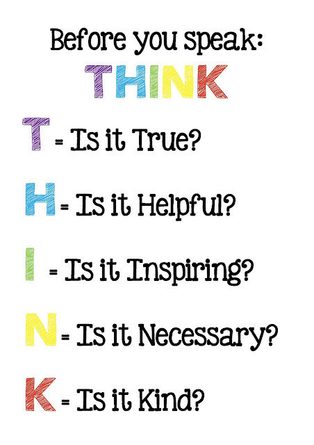 how to think and speak