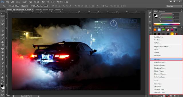 Photoshop Resim Renklerini Canlandırmak