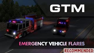 ets 2 gtm team emergency vehicle flares v1.2