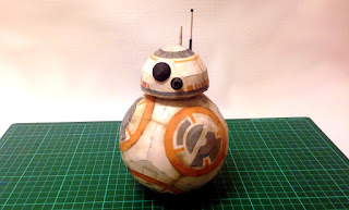 bb8 paper craft