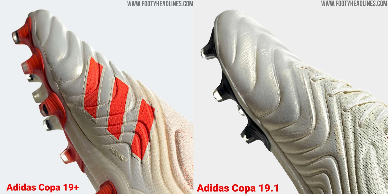 low priced 9a6cd 343bc Adidas Copa 19+ vs Adidas Copa 19.1 Soccer Cleats - Overall
