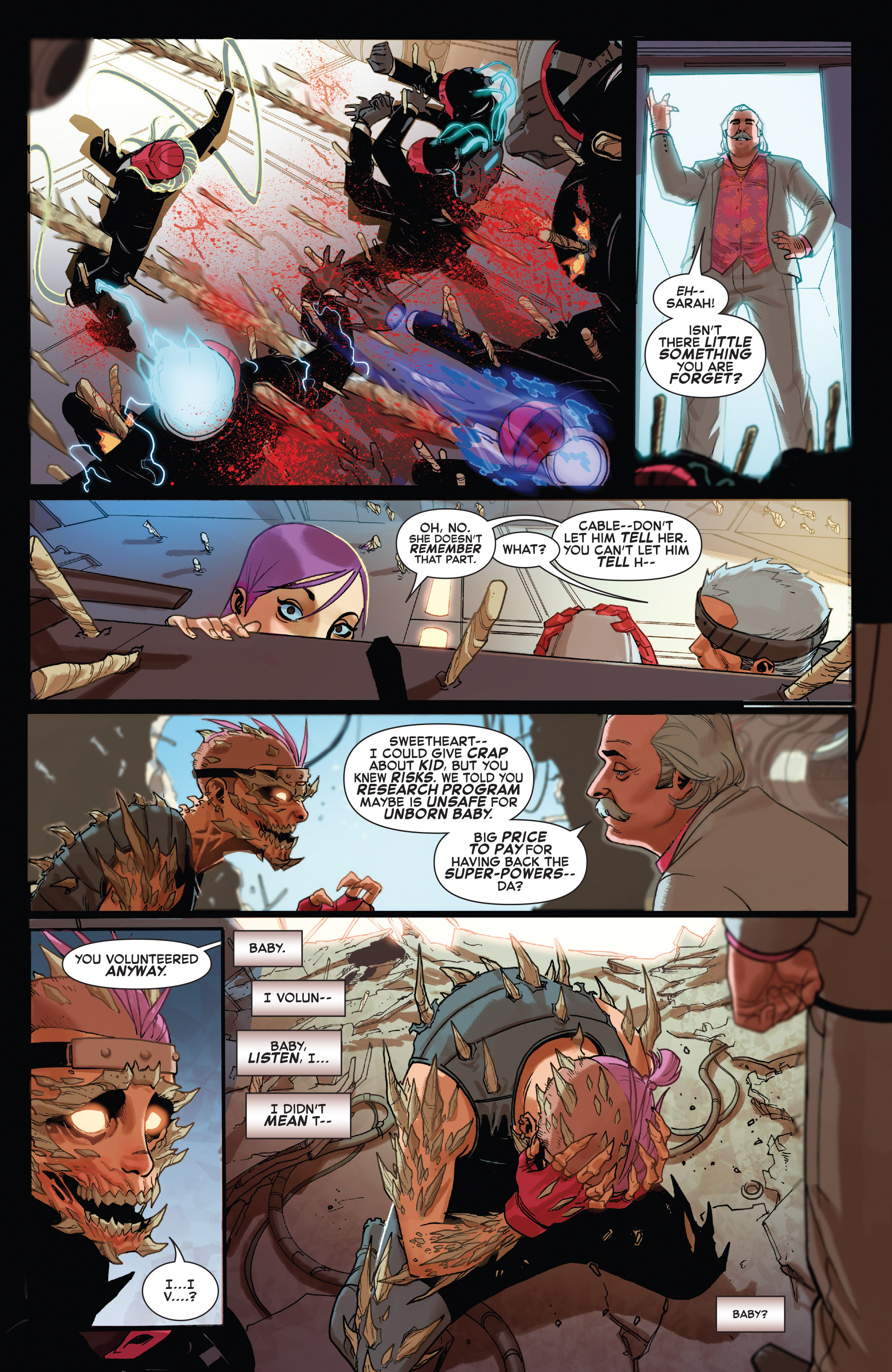 Read online X-Force (2014) comic -  Issue #5 - 16