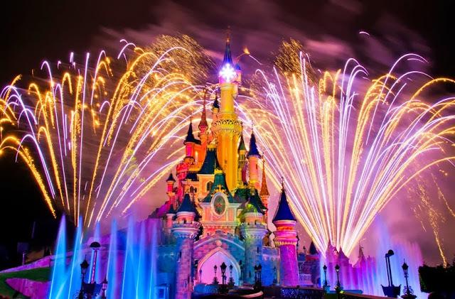 Disneyland Paris Fogos Parque