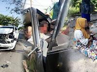 Mengemudi sambil Bawa Anak, Istri Tabrak Suami usai Pergokinya Berduaan di Mobil dengan Wanita Lain