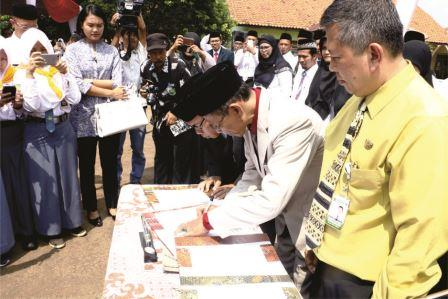Pemkab Subang Launching Program Kamis Inggris