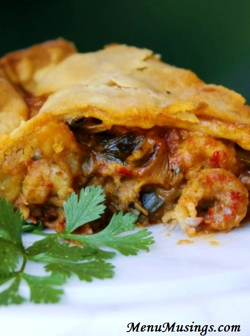Menu Musings of a Modern American Mom: Crawfish Pie
