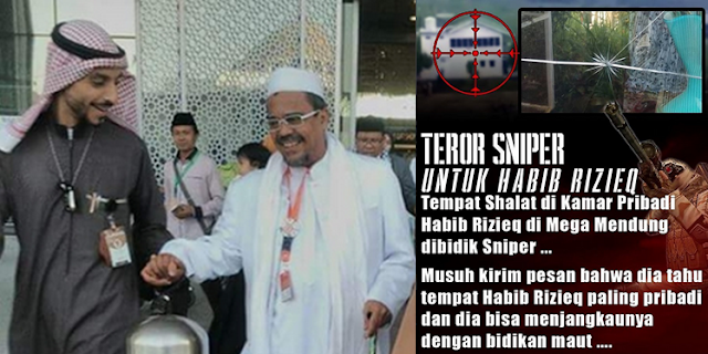 Habib Rizieq dan Keluarga Ngungsi ke Luar Negeri, Karena Ditembak Sniper. Polisi: Tidak Ada Laporan Kamar Habib Rizieq Ditembak Sniper