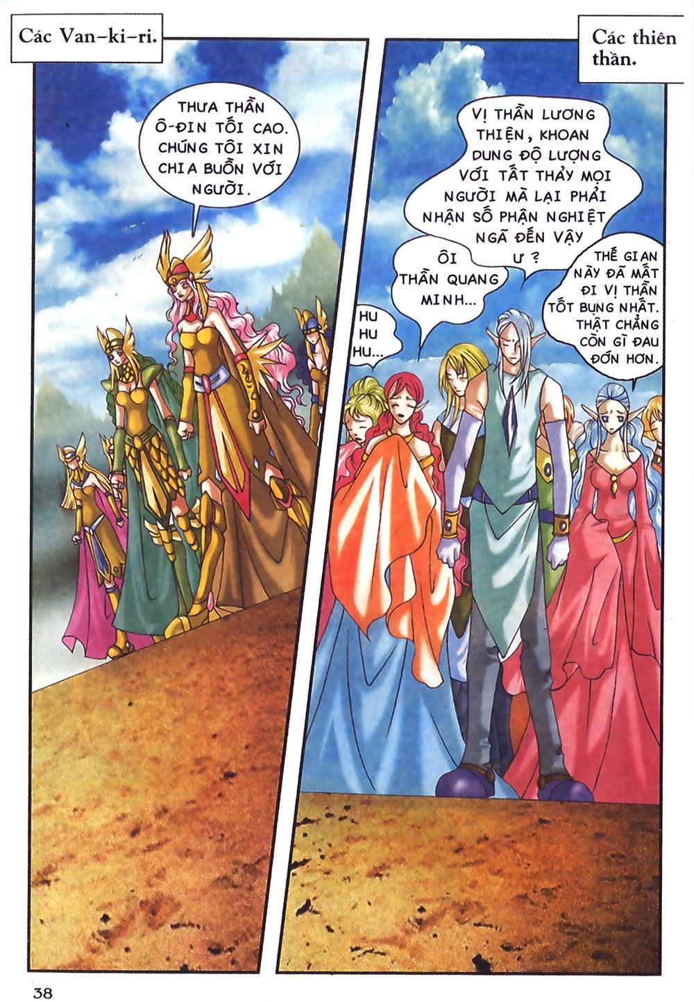 Thần thoại Bắc Âu - Chapter 45: Nỗi đau người vợ - Pic 39