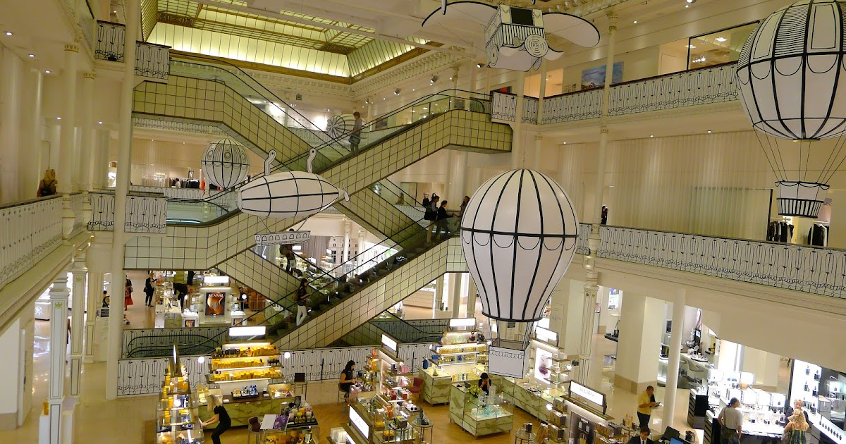 The Light from Los Angeles to Le Bon Marché Rive Gauche
