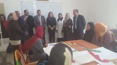 المركب الاجتماعي لذوي الاحتياجات الخاصة المنجز بمدينة الفقيه بن صالح