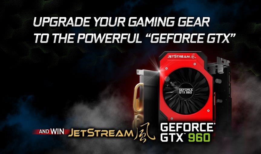 Palit GeForce GTX 960 JetStream Contest