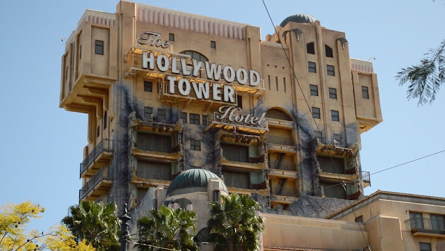 Date at Disney's California Adventure The Hollywood Tower of Terror