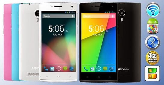 SKK Mobile Prime, 5-inch Dual Core Phablet for Php2,999