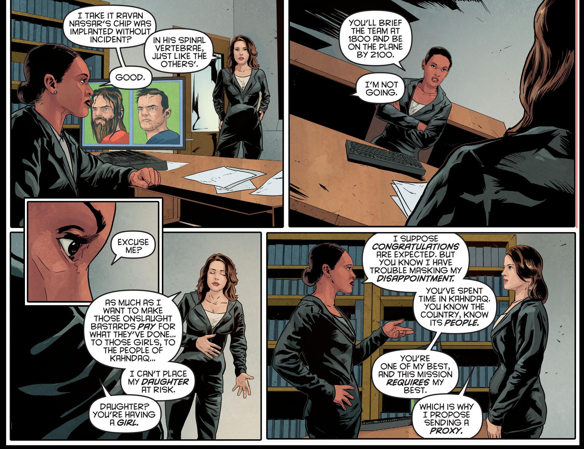Read online Arrow: Season 2.5 [I] comic -  Issue #10 - 21