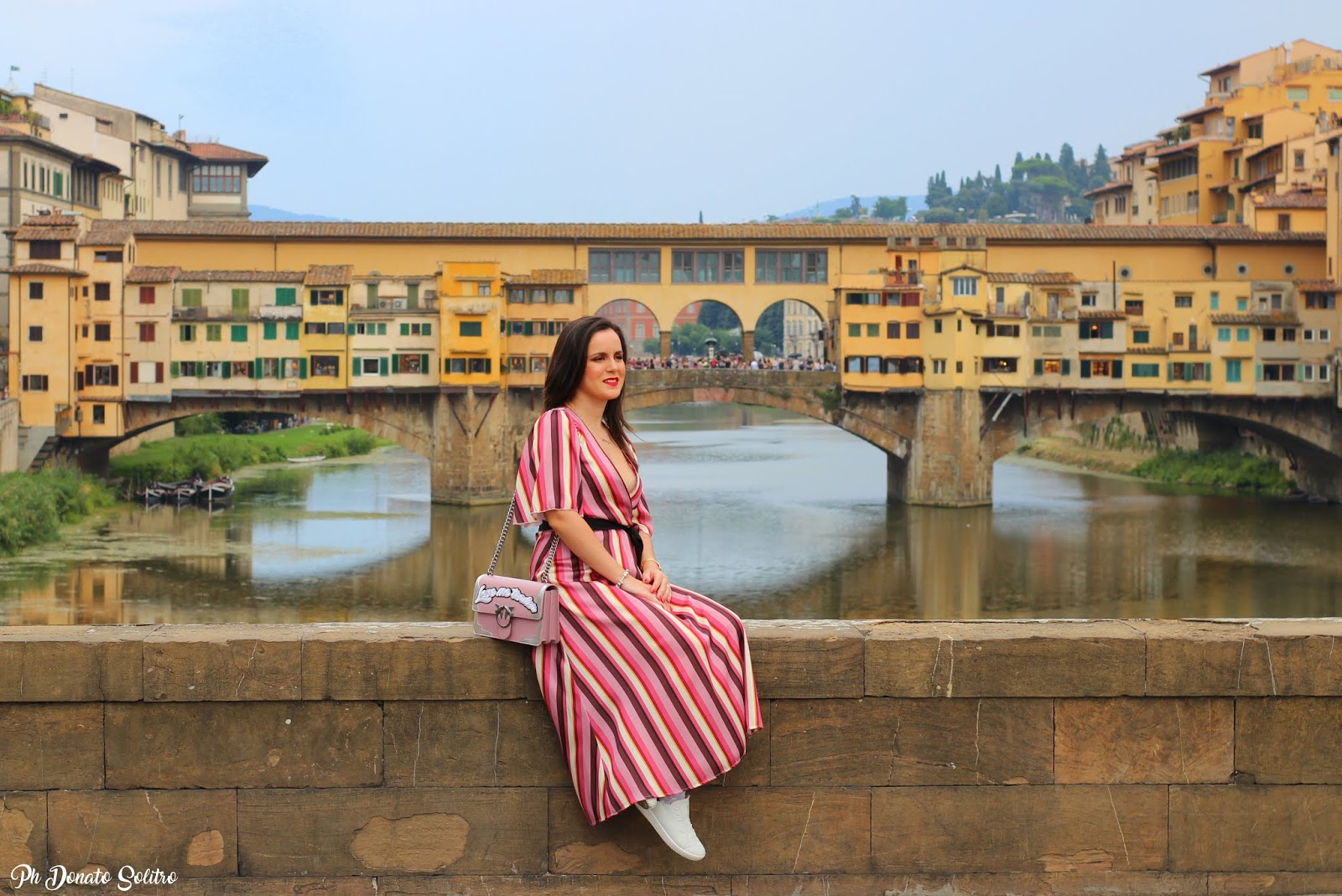 foto fashion blogger Ponte Vecchio