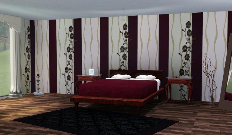 simplified verschiedene tapeten. Black Bedroom Furniture Sets. Home Design Ideas