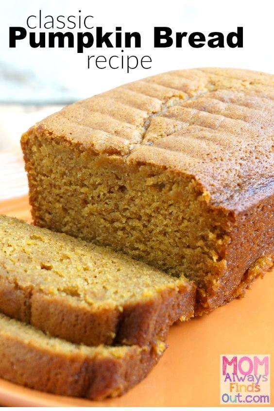 Easy Pumpkin Bread Recipe