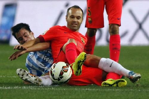 Phong độ thi đấu của Andres Iniesta  ngày cảm giảm xuống