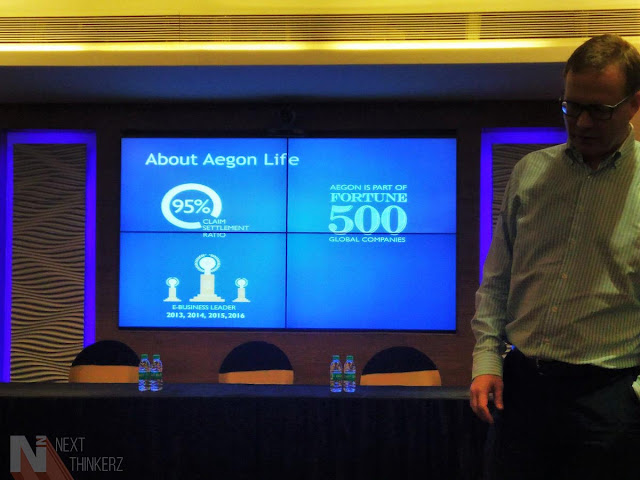 "Aegon Life Insurance re-launches their ""iTerm"" online protection plan."