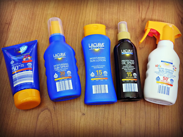 sunscreen, sun protection, aldi