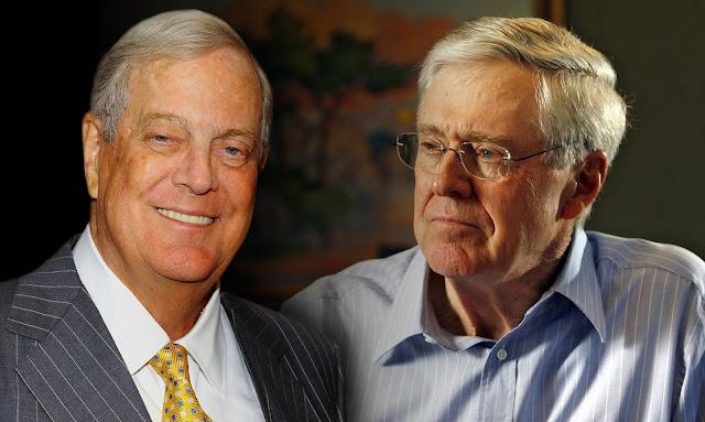 David Koch and Charles Koch