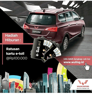 Promo Mobil Wuling 2018