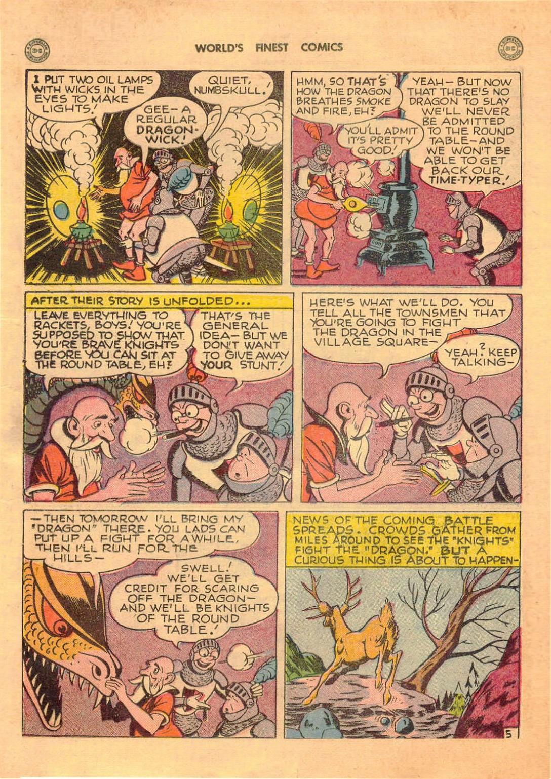 Read online World's Finest Comics comic -  Issue #42 - 32